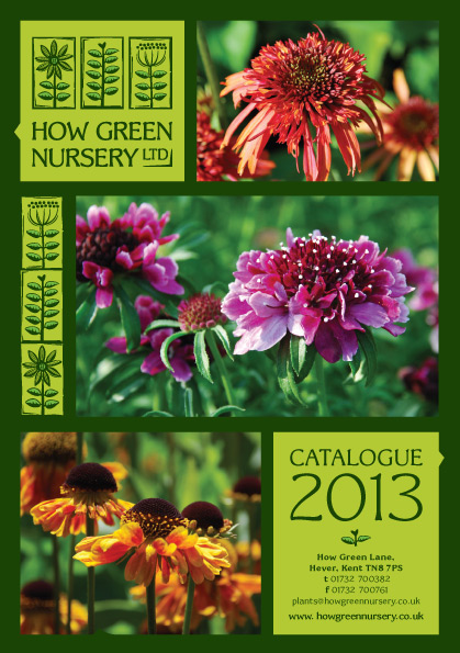 How Green Nursery Catalogue 2013: Get it while it's hot!