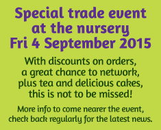 How Green Nursery Trade Event Open Day